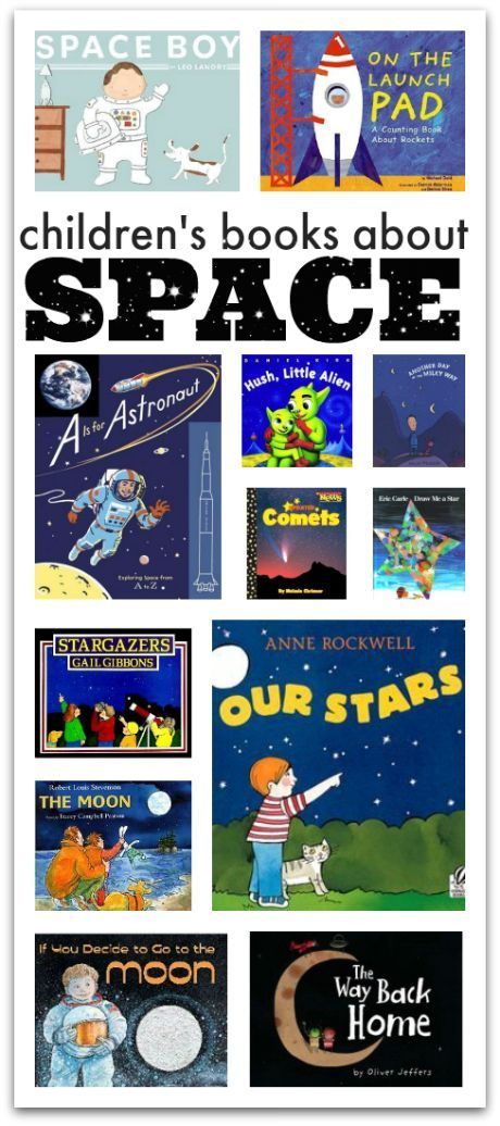 Space books for kids. Blast off into reading with your kids this summer.