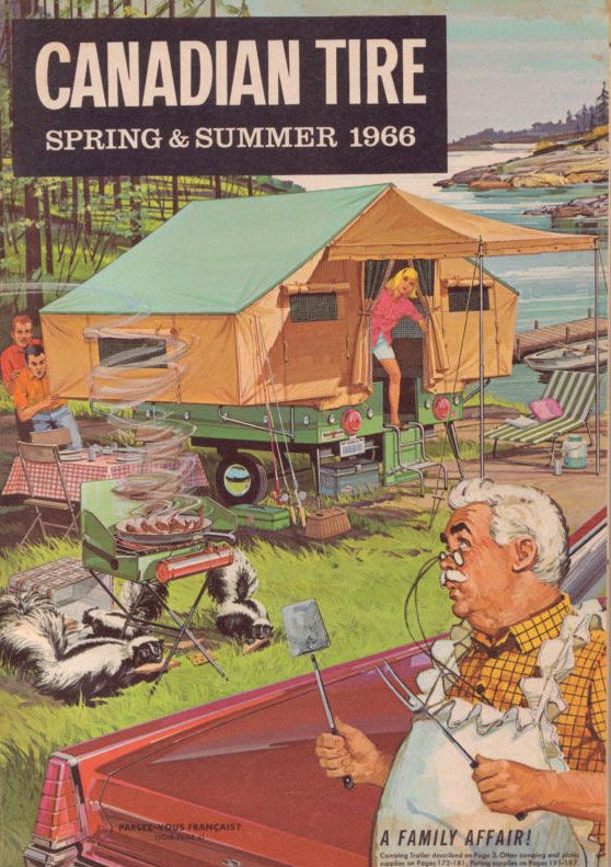 Vintage Canadian Tire Catalogue, Spring and Summer 1966