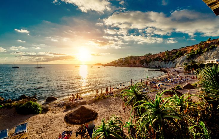 Ibiza Nightlife is a Party, But While the Sun's Out, It's Paradise