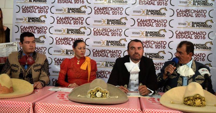 Fue presentado el programa del campeonato Estatal de Charros 2016.