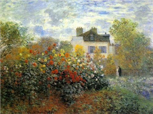 The Garden of Monet at Argenteuil - Claude Monet