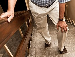 Buckling knees can cause falls-and other issues | Samaritan Healthcare