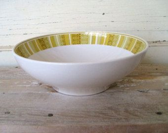 Serving Bowl, Vintage Franciscan Ware Antigua Pattern, Mid Century  Vegetable Bowl, Whitestone Ware Bowl 1960s Retro Kitchen