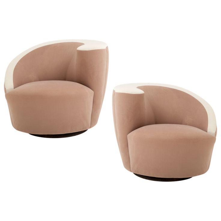 Superior Pair Of Vladimir Kagan Nautilus Chairs | Nautilus, Chair Sale And Modern