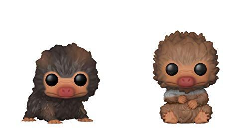 NEW 4 PACK BABY NIFFLERS Harry Potter THE CRIMES OF GRINDELWALD Wizarding Plush
