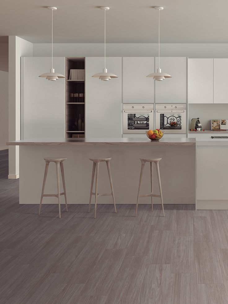Una de las tendencias que viene súper fuerte en este 2018 son los tablones cerámicos, una alternativa a la duela o pisos laminados, en el que se tiene un piso con apariencia de madera pero con un mantenimiento mucho más sencillo y piso más resistente.