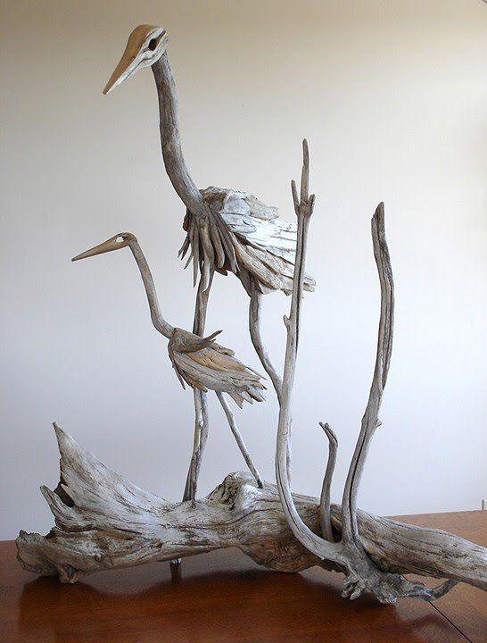 Driftwood-sculptures by Richel Vincent (11)