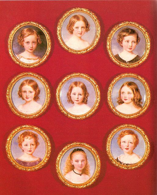 Queen Victoria's 9 children.
