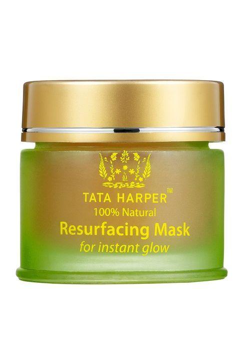 Tata Harper Resurfacing Mask, $55; sephora.com Made with exfoliating papaya enzymes and detoxifying clay, this resurfacing mask works to reveal glowing skin.