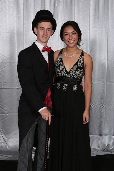 Macleans College School Ball 2014 - Silver Backdrop - bcphotographynz