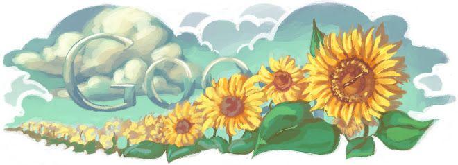 Ukraine Independence Day 2010  - Дудли Google. Doodles Google. День незалежності України 2010 року
