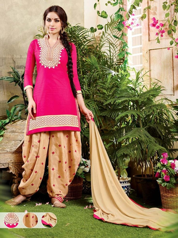 Fabulous looking suit is a blessing to the eye.  Item code: SLNYA707 http://www.bharatplaza.com/new-arrivals/salwar-kameez.html