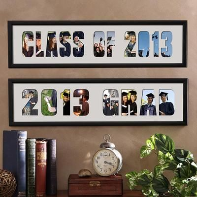 Gift Idea: Graduation Photo Collage Personalized Picture Frame $39.95