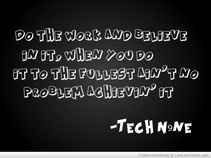 tech n9ne quotes from songs - Google Search