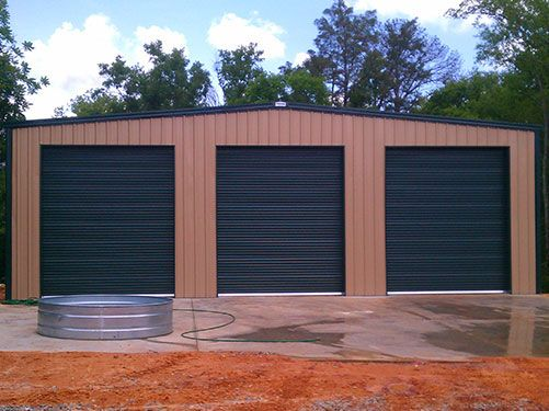 1000 images about metal building on pinterest steel for Garage and shop buildings
