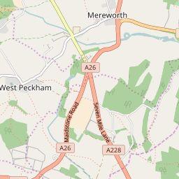 East Peckham - MapIt