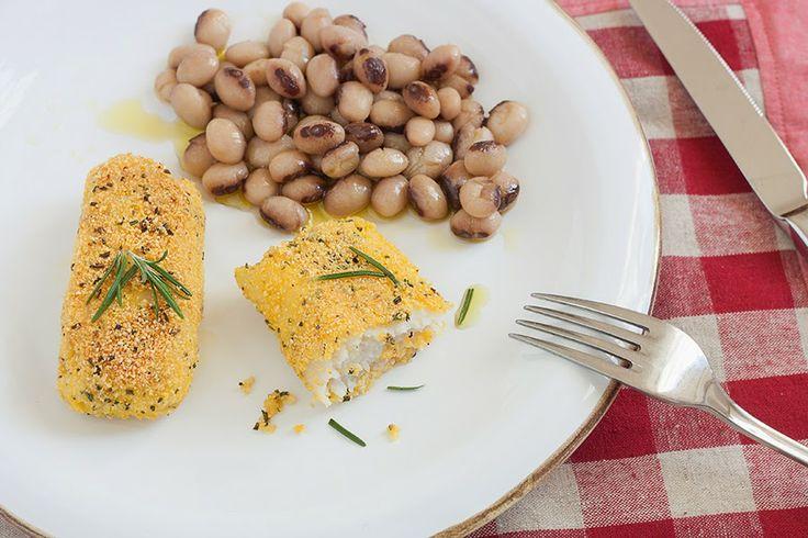 Merluzzo in crosta e i fagioli di Lucca!  #toscana #cucina #prodottotoscano