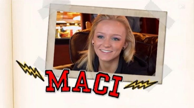Teen Mom Cast Season 3 Maci Bookout #maci #bookout #macibookout #mtv #teen #mom #teenmom #16andpregnant