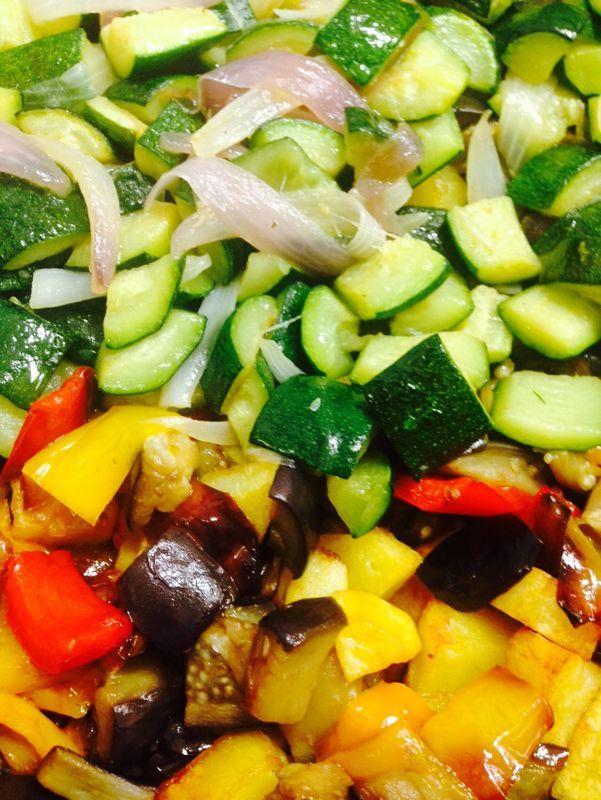 Verdure miste o misto di colori!?