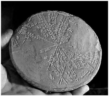 Sumerian star map.