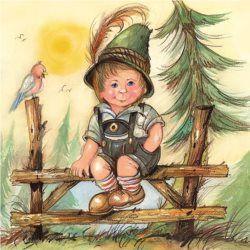 Serwetka papierowa - Little Josef  - 00894
