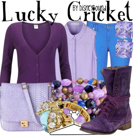 Disneybound-- Lucky Cricket from Mulan