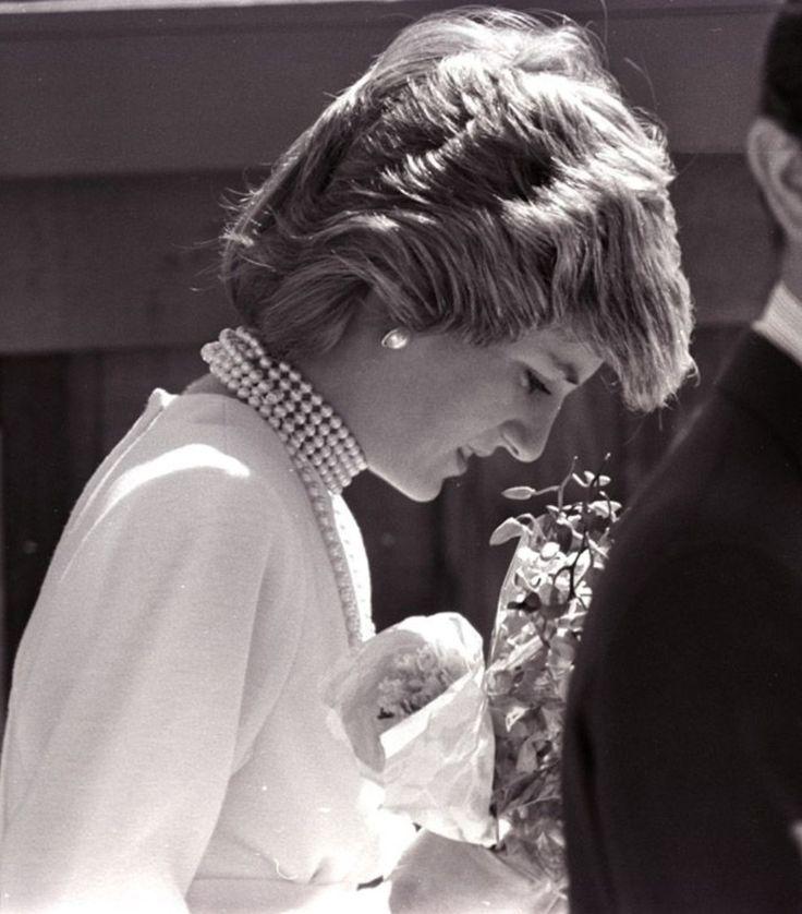 Princess Diana visits Expo 86 in Vancouver. Shortl…