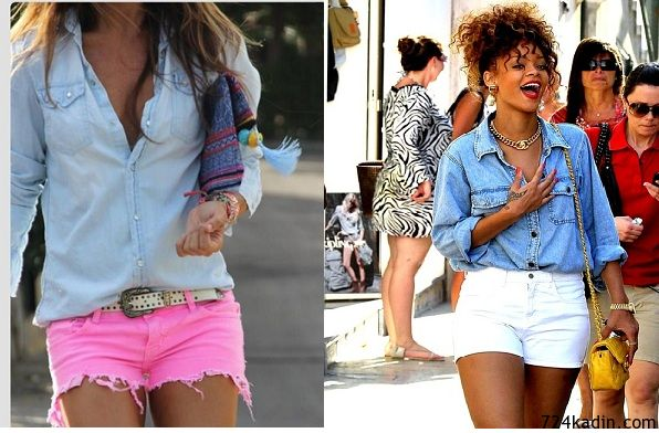 Sokak Modasının Vazgeçilmezi: Kot Gömlekler | 7/24 Kadın | Kadınlar İçin Her Şey