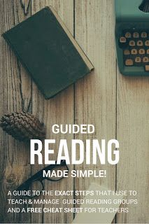 Do you teach guided reading? Click through to this blog post about the guide I use to teach and manage guided reading groups, and a free cheat sheet for teachers!