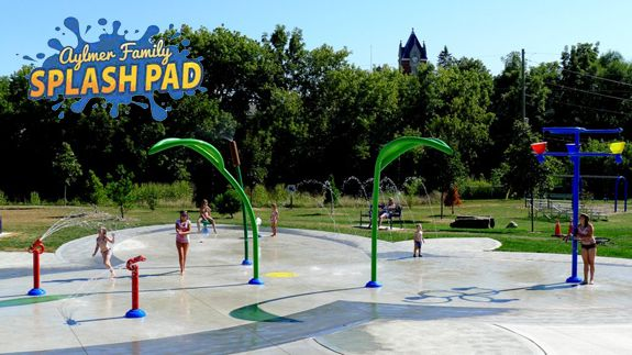 Aylmer Family Splash Pad!