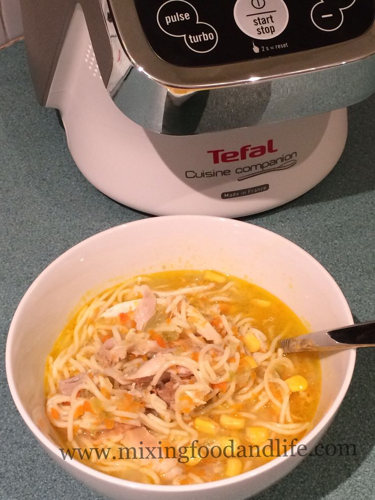 One of our absolute favourites – easy and quick . We usually have a Lebanese Pita Bread Pizza with this as an accompaniment – which we share 2 between the 4 of us This soup is great all… Tefal Cuisine Companion #tefal #tefalaustralia #cuisinecompanion