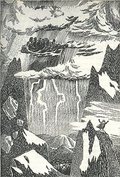 The Hobbit illustrations by Tove Jansson