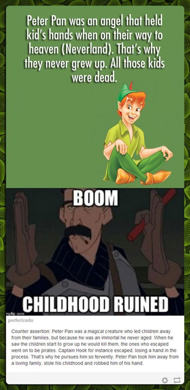 Boom... childhood ruined!