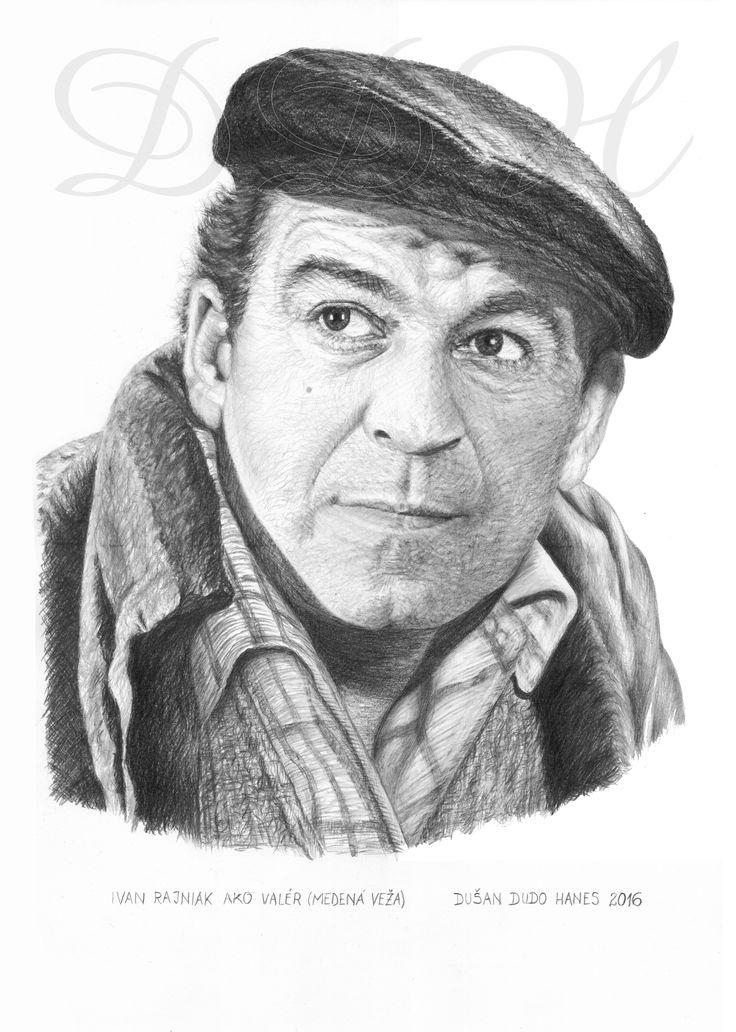 Ivan Rajniak, portrét Dušan Dudo Hanes