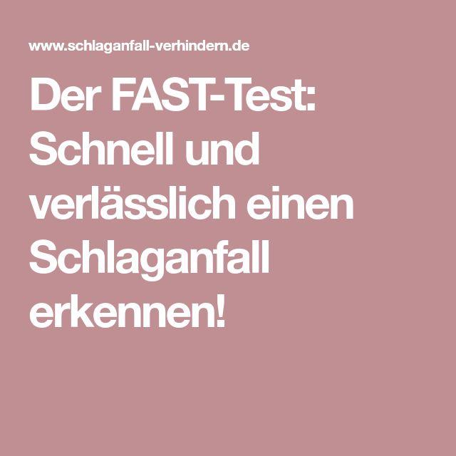 Der FAST-Test: Schnell und verlässlich einen Schlaganfall erkennen!