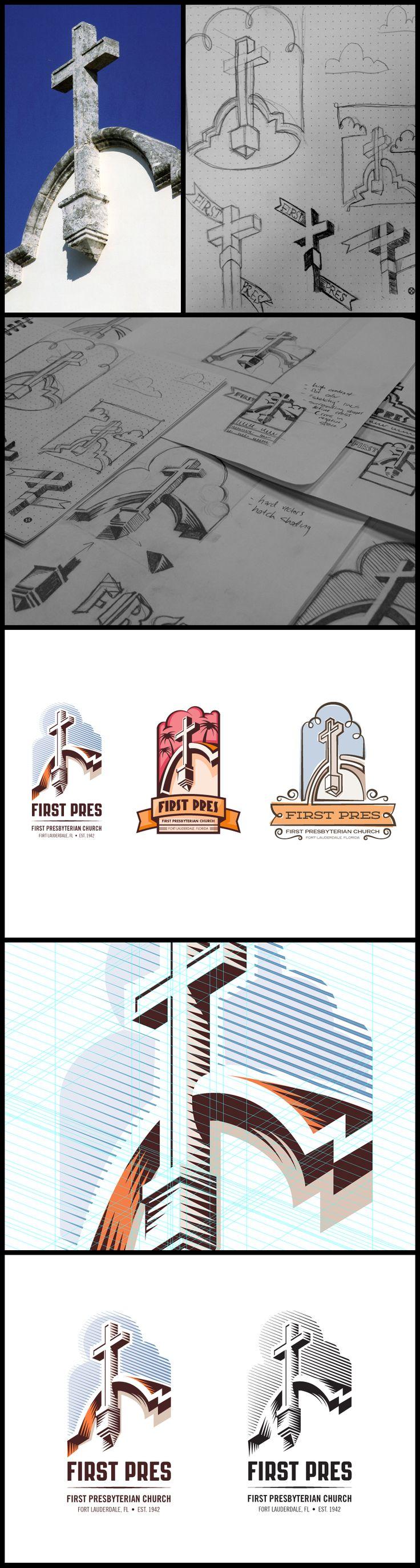 I love to see logo design progression
