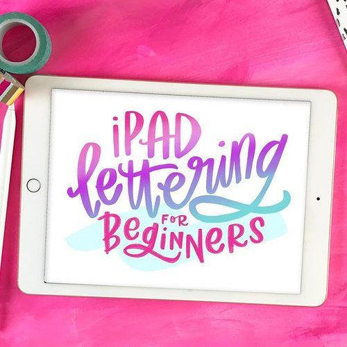 Who's ready to get their #iPadLettering on?! The 18 video course launches today and is only available until Friday at 9pmPST. Head to the link in profile or ➡️handletteringforbeginners.com/ipad to get instant access.⠀ . ⠀ Click through to see a sampling of the different techniques and effects we'll go over in the course! ⠀ .⠀ Feel free to ask any questions about what's covered and what you need for the course. Other comprehensive iPad lettering courses I've seen are priced at over $150, but…