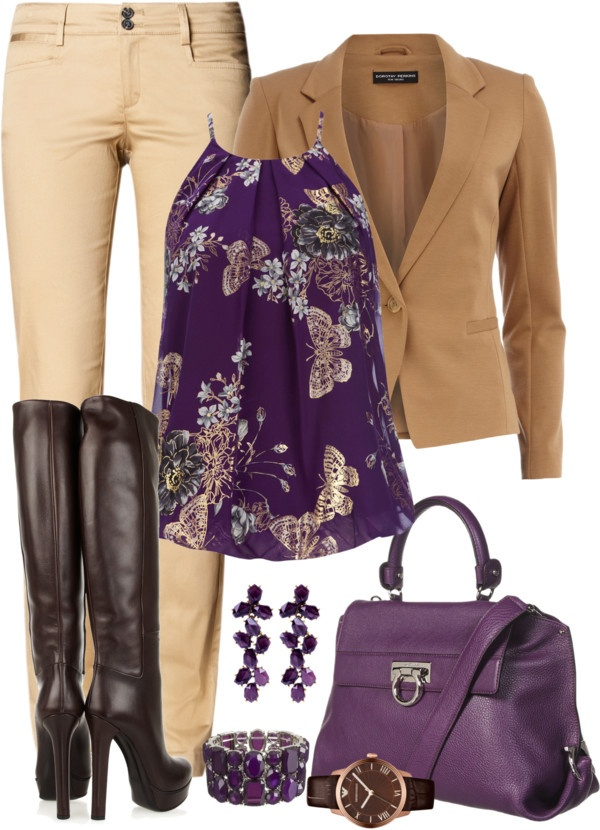 """For an """"any day"""" outfit I absolutely love everything except for the boots. I would be kicking those off after a few hours of walking :)  LOVE the shirt! on Polyvore"""