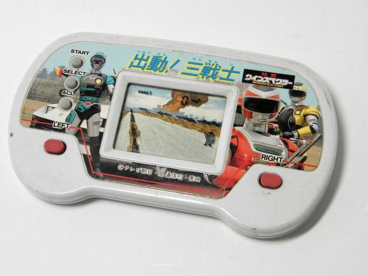 Bandai LCD Handheld Game Pocket Club P-1 Special Rescue Police Winspector #Bandai
