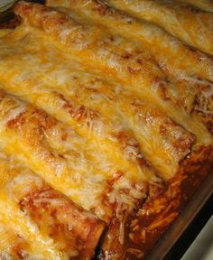 Recipe for Beef and Bean Enchiladas - They are snap to make and taste great. They were even good reheated for lunch the next day. I served this with some Mexican rice and chips and salsa.