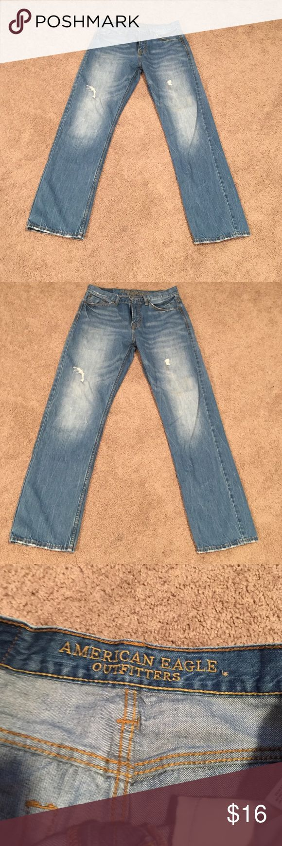 Men's American eagle jeans size 30x32 Men's relaxed straight fit jeans American Eagle Outfitters Jeans