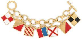 "ShopStyle: Nautical Flags ""I Love You"" Charm Bracelet"
