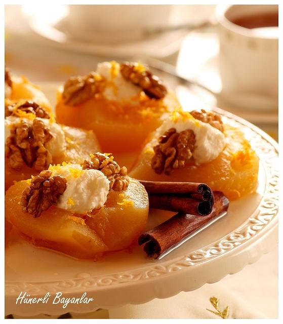 Elma Tatlısı by hunerlibayanlar@yahoo.com, via Flickr