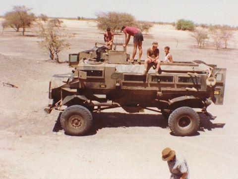 Casspir SWAPOL Ombalantu