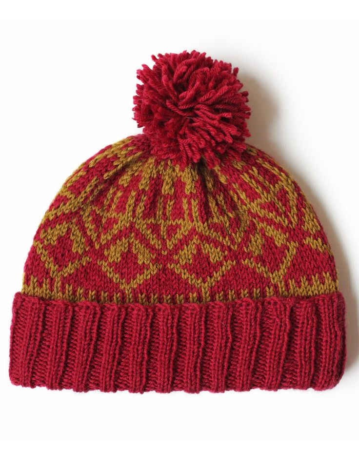 Nordic Knitting Patterns Free : Yarnspirations.com - Patons Nordic Hat - Patterns Yarnspirations Crazy Fo...