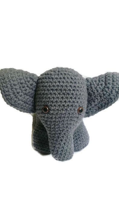 Hey, I found this really awesome Etsy listing at https://www.etsy.com/ca/listing/448942832/elephant-crochet-elephant-grey-elephant