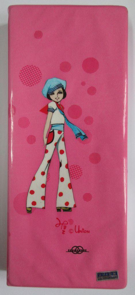 Mylene pencil case (Union, Japan, 1970s) back