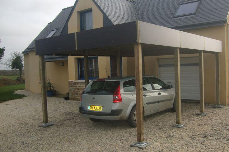 Abris àvéhicules toit plat | Tootan