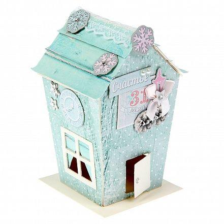 "Набор для создания домика ""Shabby House"" Зимний шик от Арт Узор"