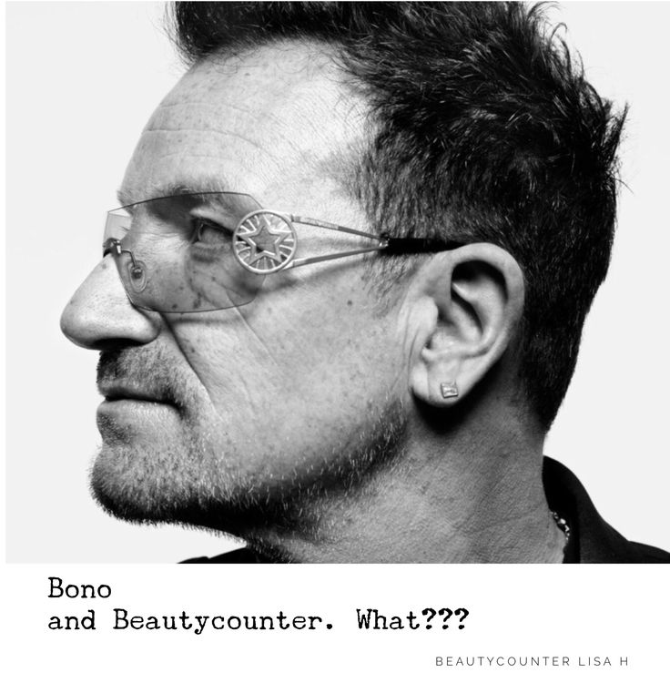 Anyone who knows me, knows how much I love Beautycounter and U2. Did you know Beautycounter acquired NUDE Brands in 2016? It is a natural skin care line , owned by Ali Hewson (Bono's lovely wife). As part of the acquisition Bono became an investor in Beautycounter and Ali Hewson became a board member.